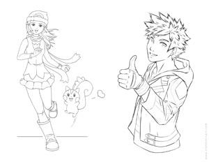 Pokemon 01 - Dawn & Pachirisu / Spark